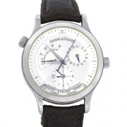 Jaeger-LeCoultre 1428421 Master Geographic Stainless Steel Watch
