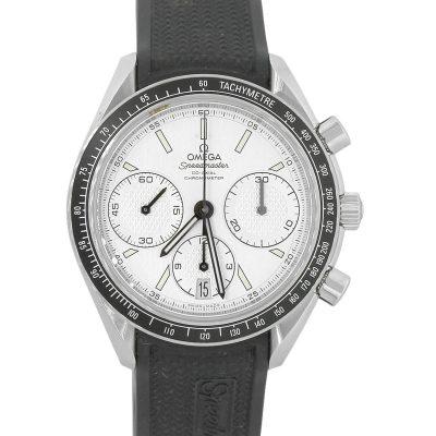 Omega O326324 Speedmaster Chronograph White Dial Watch