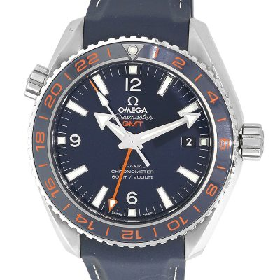 Omega 232.32 Seamaster Planet Ocean Co-Axial Blue Dial Watch