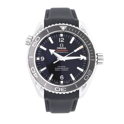 Omega 232.32 Seamaster Planet Ocean Co-Axial Black Dial Watch