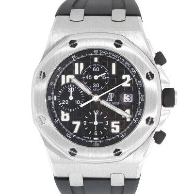 Audermars Piguet Royal Oak Offshore Stainless Steel Black Dial Watch