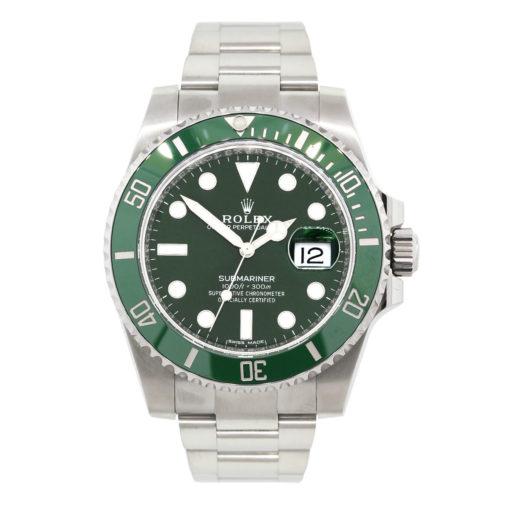 Rolex green dial submariner