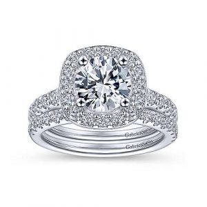 gabriel and co diamond engagement ring