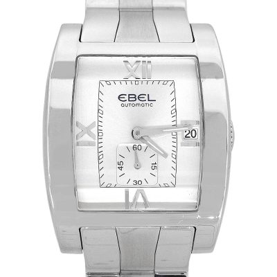 Ebel Tarawa Stainless Steel Silver Dial Gents Watch
