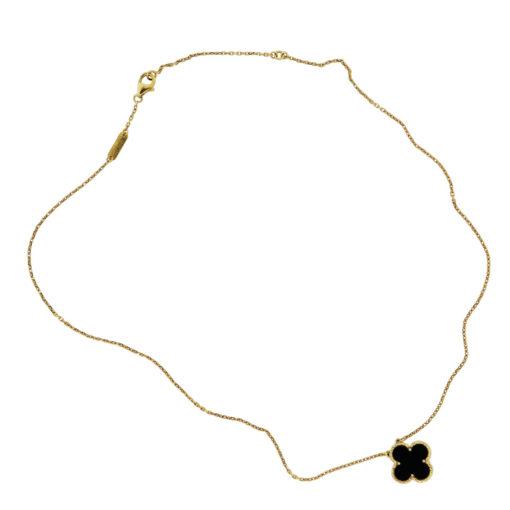 single motif vca necklace