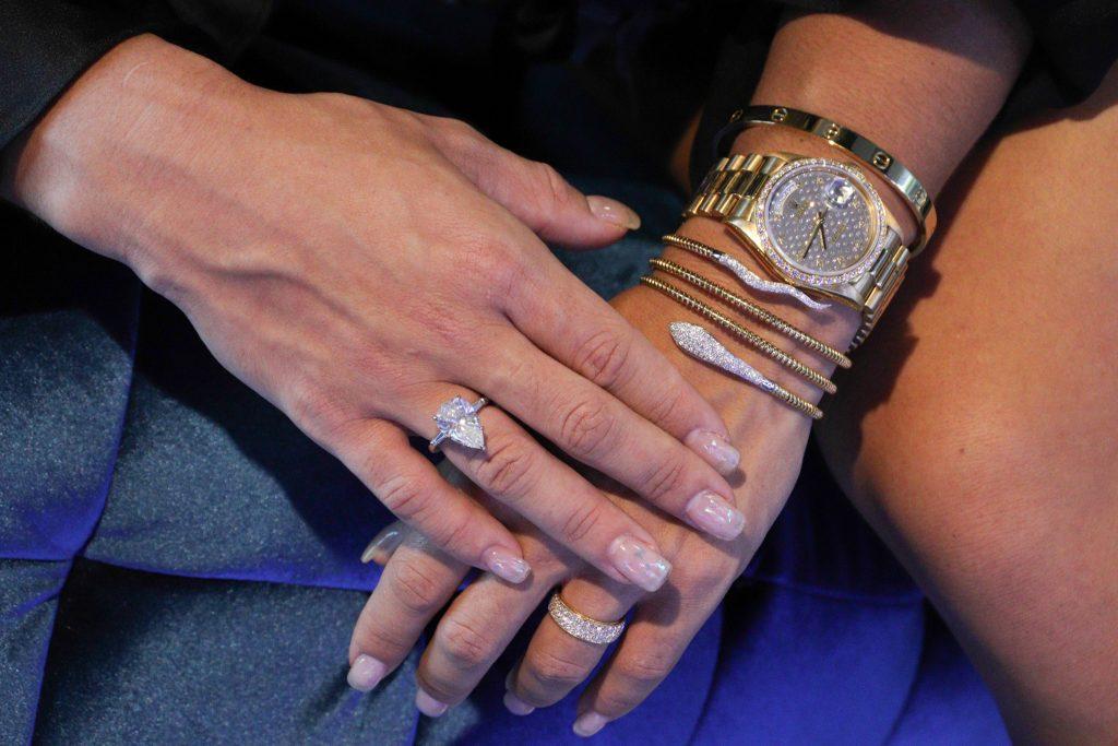 diamond snake bracelet