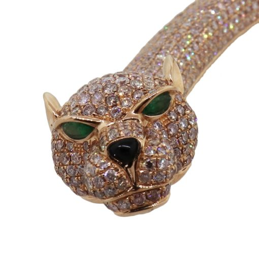 diamond pave collar necklace