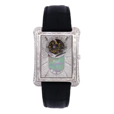 Piaget diamond tourbillion watch