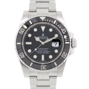 Rolex 116610LN Submariner Black Ceramic Bezel and Black Dial Watch