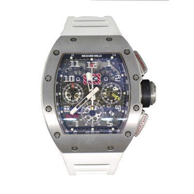 Richard Mille RM011 Felipe Massa Titanium Chronographic Dial Gents Watch