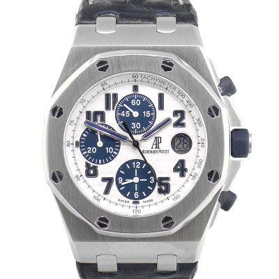 Audemars Piguet Navy Royal Oak Offshore Stainless Steel Watch