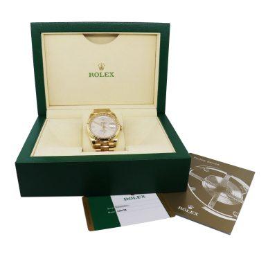 gold presidental watch