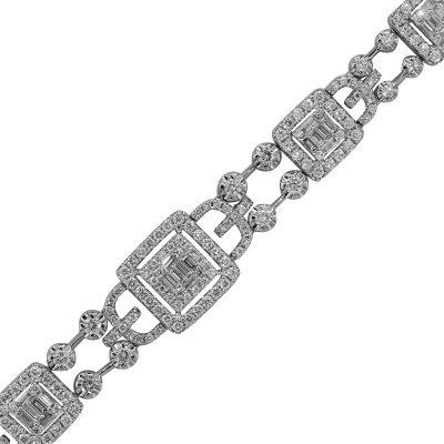 Diamond Open Bracelet