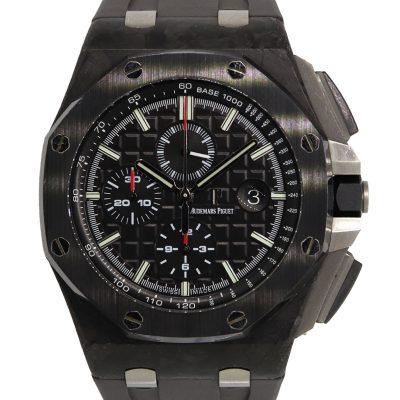 Audemars Piguet Royal Oak Offshore Chronograph Forged Carbon Ceramic Bezel Watch