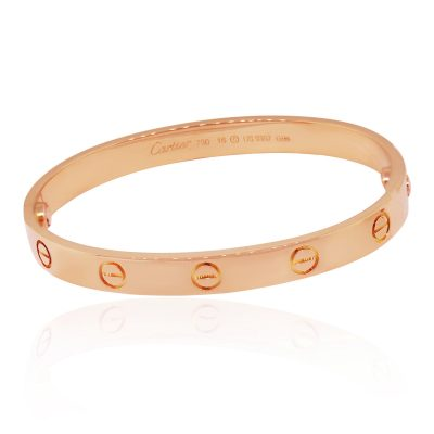 Cartier Rose Gold Love Bangle