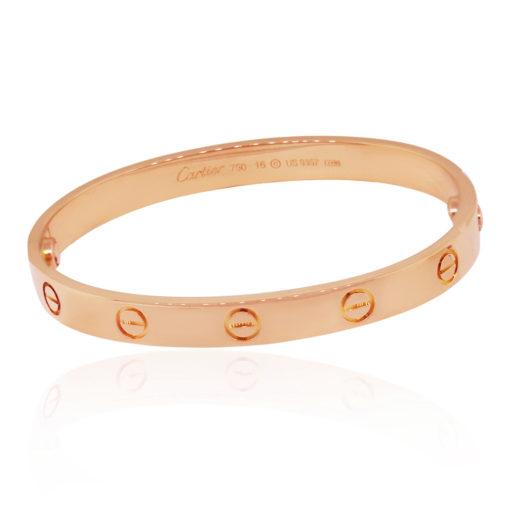Cartier Rose Gold Love Bangle