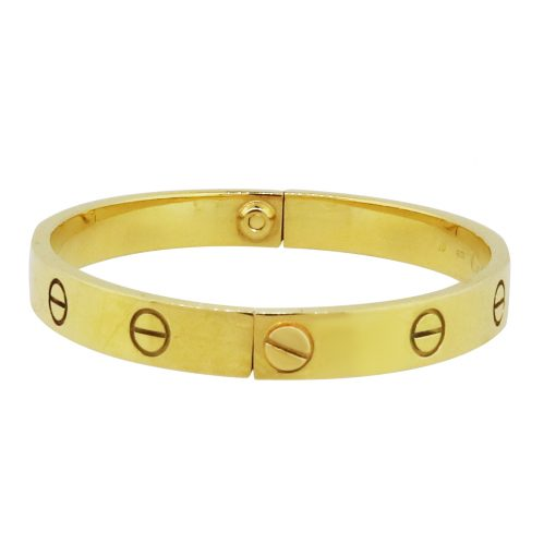 18k Yellow gold Cartier Love Bangle