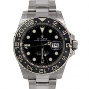Rolex 116710 Master GMT II Ceramic Bezel Stainless Steel Watch