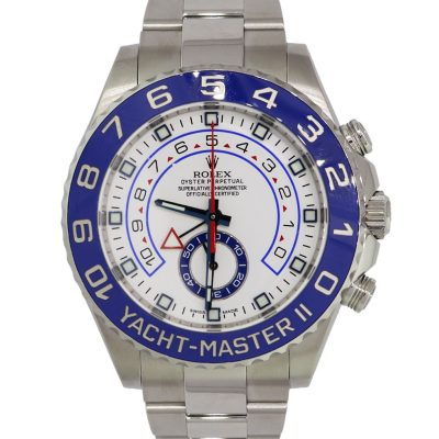 Rolex 116680 Yachtmaster II Stainless Steel Watch
