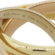 cartier ring tri gold