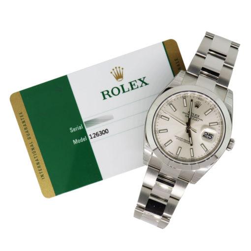rolex 126300 datejust boca raton