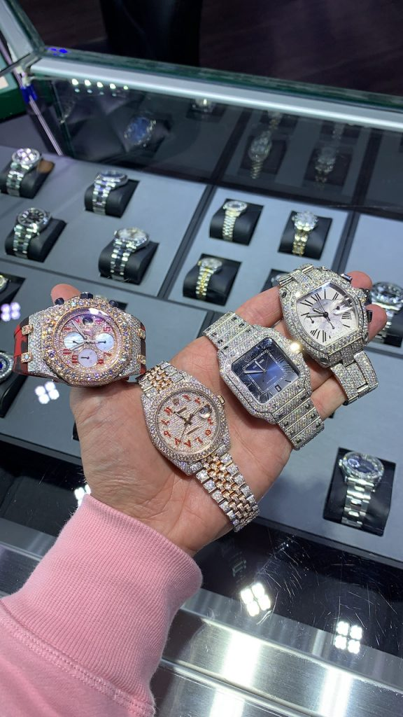 bust down watches