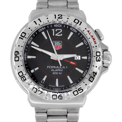 Tag Heuger WAC111A Formula 1 Stainless Steel Watch