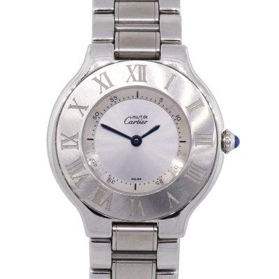 Cartier 21 Must de Cartier Stainless Steel Ladies Watch