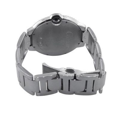 Cartier Ballon Bleu Stainless Steel Silver Dial Watch