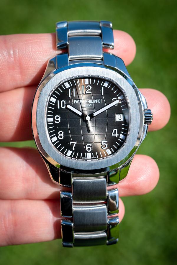 patek philippe aquanaut stainless steel bracelet