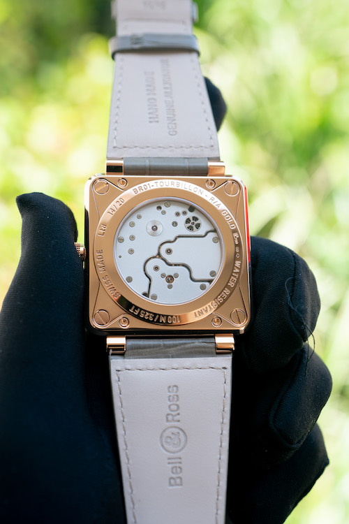 bell and ross br01 rose gold