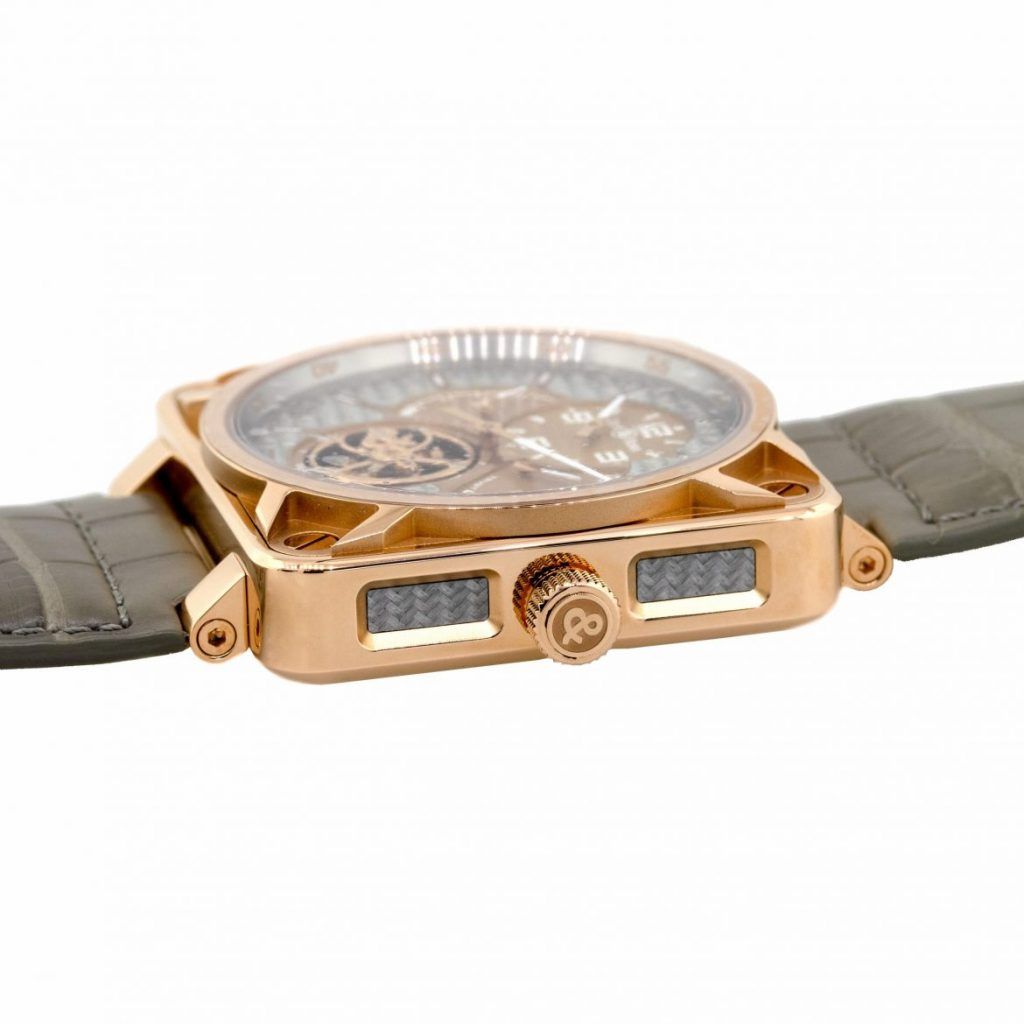 br01 rose gold watch