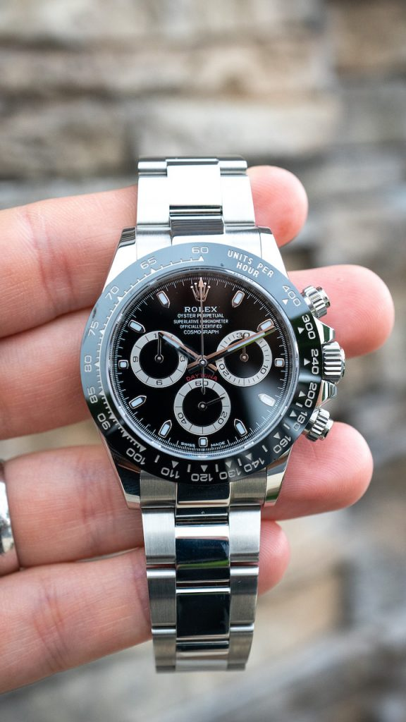 is the black dial daytona more popular than the white dial daytona