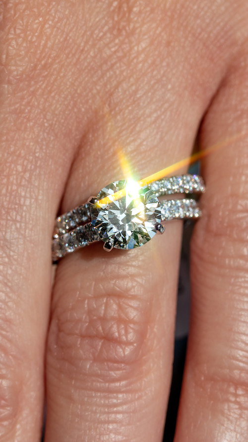 pre-owned vs new engagement rings