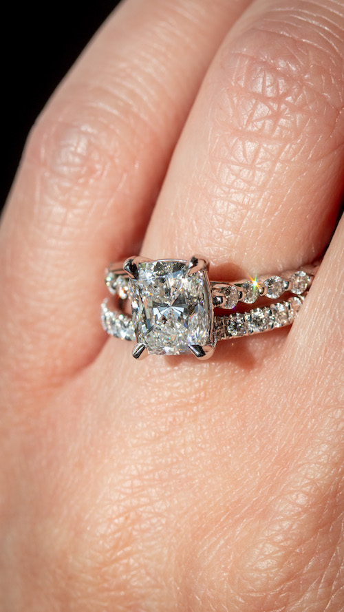 should i buy a new or used engagement ring