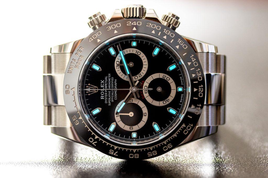 Rolex Daytona Comparison white dial vs black dial