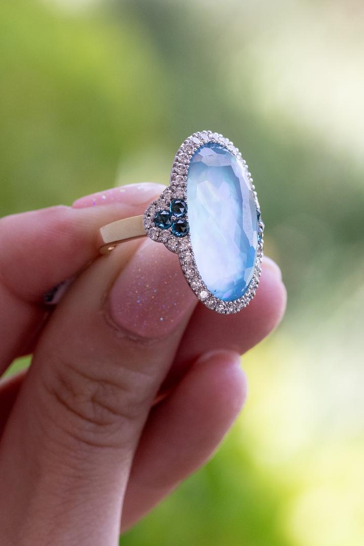 blue topaz rings in boca raton
