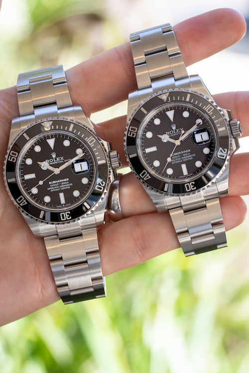 what has changed with the new rolex submariner 2020