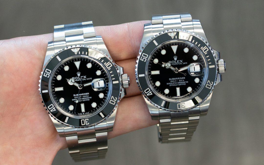New Steel Rolex Submariner 126610LN vs 116610LN