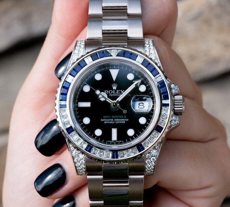 Review: Rolex 116759SA Sapphire & Diamond White Gold GMT-Master II