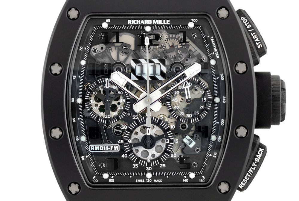 "Hot Review: Limited Edition Richard Mille RM 011 ""Black Phantom"" Watch"