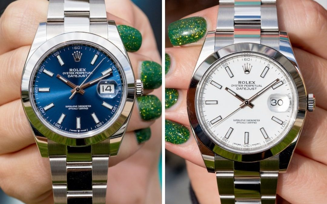 Blue Dial vs White Dial Rolex Datejust 41 Debate & Review