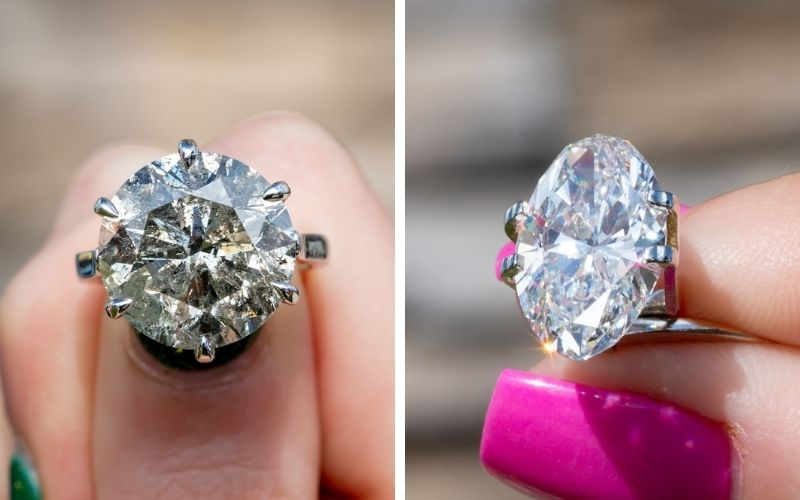 Round vs Oval Diamond, Which is Right For You?