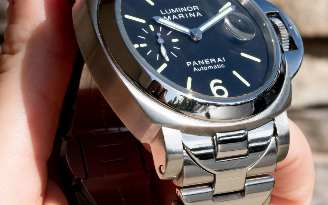 BEST PANERAI WATCH TO COLLECT: PANERAI LUMINOR MARINA AUTOMATIC