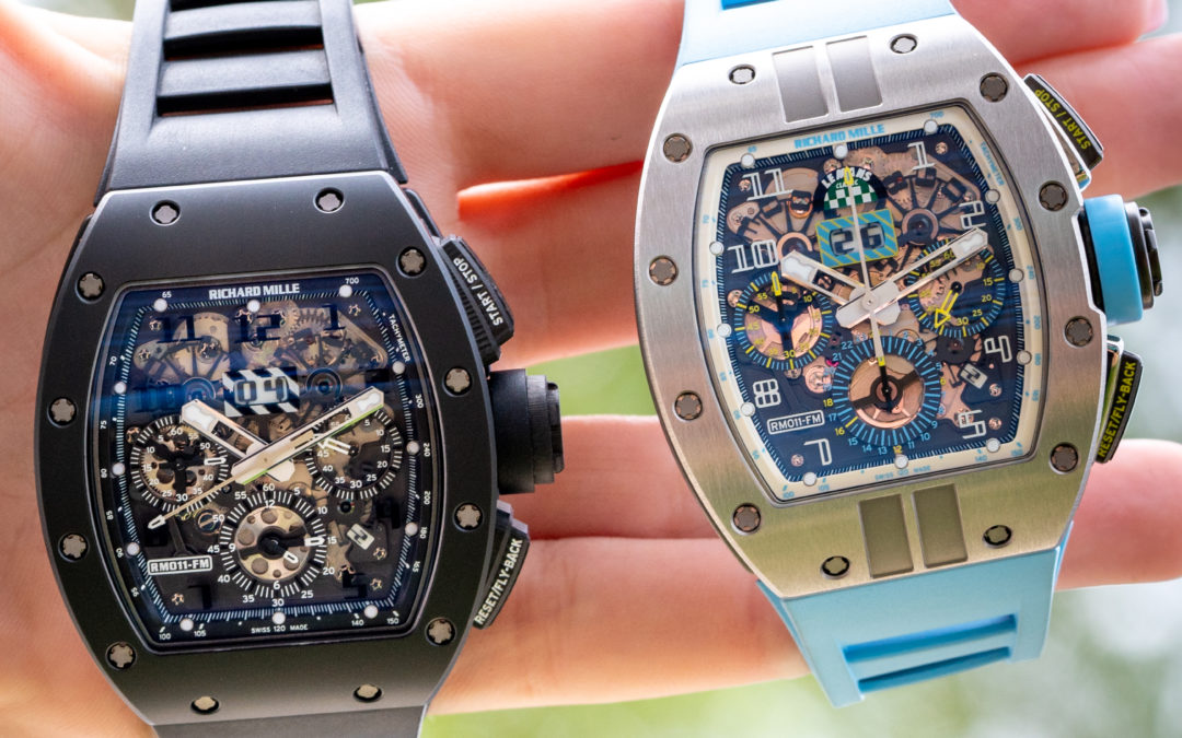 WHAT IS SPECIAL ABOUT RICHARD MILLE RM-011 FM WRISTWATCH?