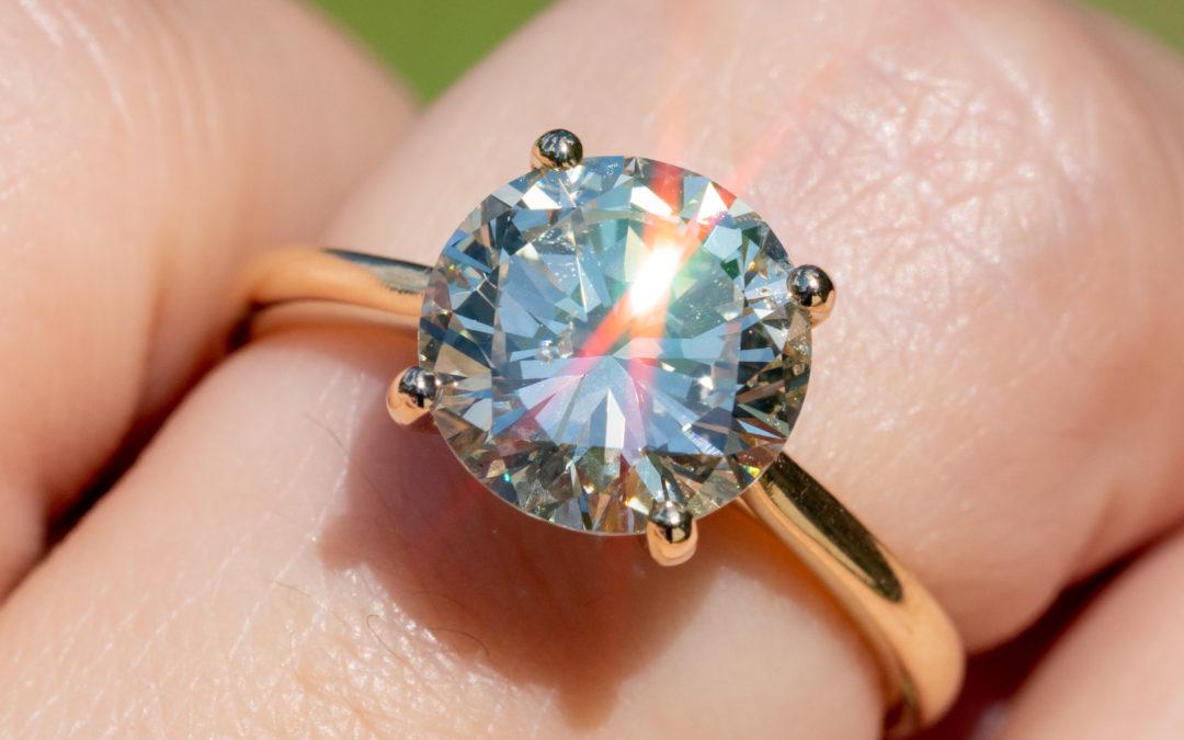Single-stone Diamond Rings