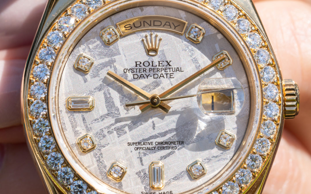 WATCH OF THE WEEK: ULTIMATE GOLD ROLEX DAY-DATE MASTERPIECE