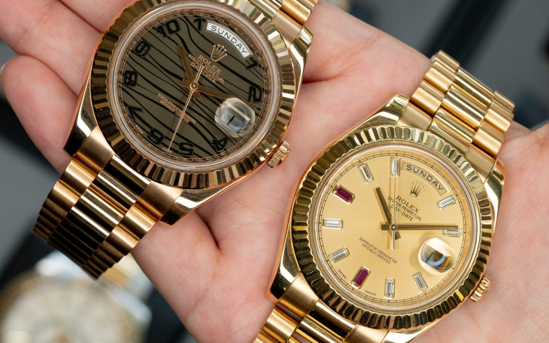 The Perfect Pair: Rolex Sky-Dweller Vs Rolex Day-Date