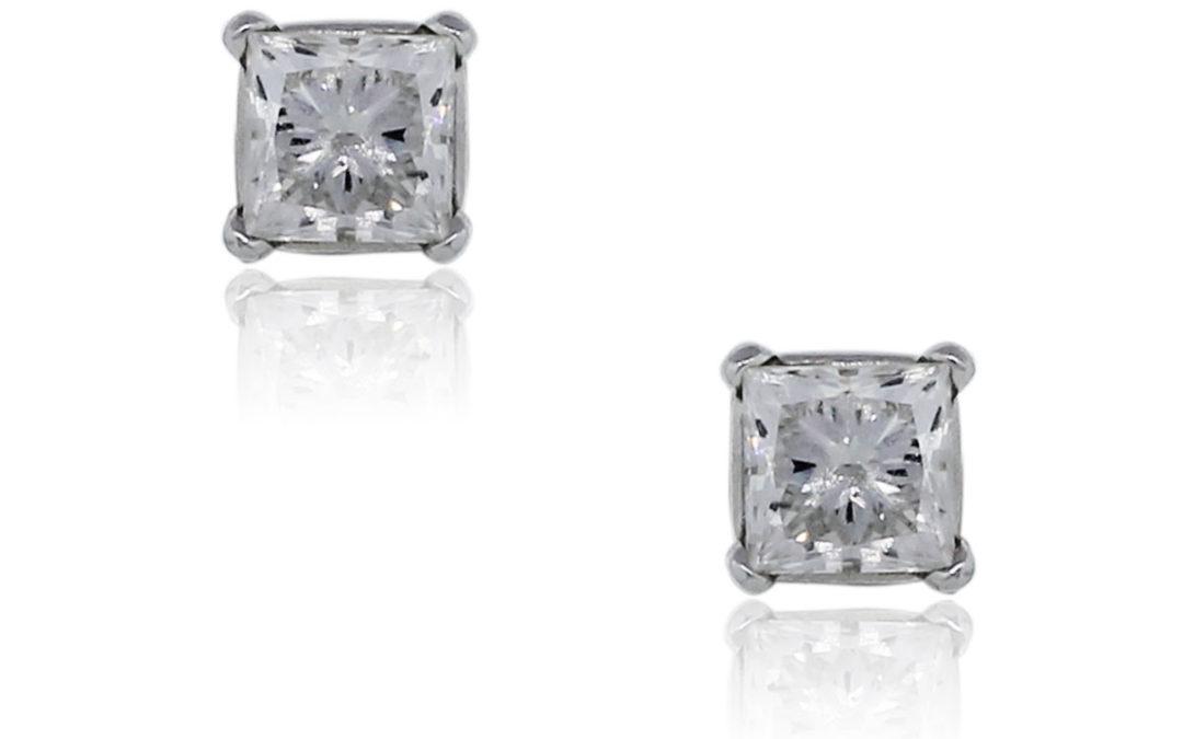 Diamond Stud Earrings: Classic Elegance