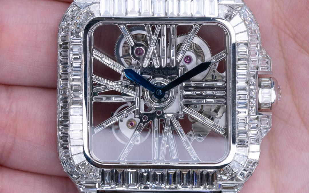 Diamond Chandelier & Baguettes Watch
